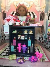 18 Inch Doll American Generation Tea Shoppe Shop Stand and Accessories