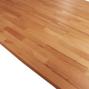 Solid Beech Kitchen Wood Worktops 2M 3M 4M & Breakfast Bars Solid Wooden Worktop