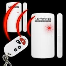 2x Tür & Fensteralarm mit Fernbedienung Durchgangsmelder EASYmaxx Security Alarm
