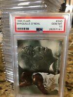 1995-96 Fleer Flair #240 SHAQUILLE O'NEAL PSA 10 Gem Mint POP 1!