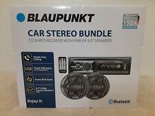 "New listing Blaupunkt Omaha206 Cd & Mp3 Bluetooth Usb Charging Am/Fm with 6.5""Speaker Bundle"