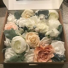 Deluxe Natural Whites & Serene Ivory Flowers Box Set from Ling's Moment