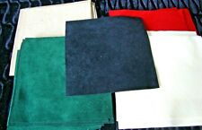 """Teddy Bear Making Supplies- Ultrasuede Pieces- 5 Colors- 27 Pcs - Approx 4""""x4"""""""