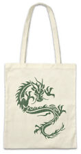 Tribal Chinese Dragon II Shopper Shopping Bag China Symbol Sign Tattoo Knot