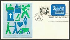 #U589 3.1c Authorized Non-Profit, Fleetwood FDC **ANY 4=FREE SHIPPING**