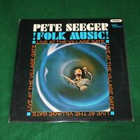 PETE SEEGER - !FOLK MUSIC! LIVE AT THE VILLAGE VANGUARD. (UK, 1965, VLP 5016)