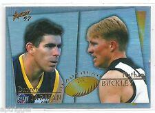 1997 Select Head to Head (H2H8) BUCKLEY Collingwood & JARMAN Adelaide