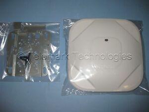 Cisco Aironet 1602I Wireless Access Point AP AIR-SAP1602I-B-K9 with Bracket
