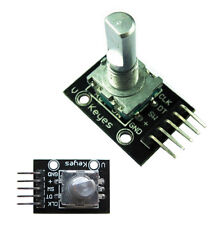 1Pcs New 5V Rotary Encoder Module Brick Sensor  99 UK Board For Arduino