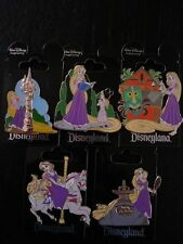 Disney WDI #2 Rapunzel From The Movie Tangled At Disneyland Set of 5 Pins LE250