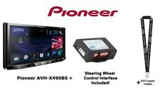 Pioneer AVH-X490BS DVD Receiver w/ PAC SWI-CP2 Steering Wheel Control Interface