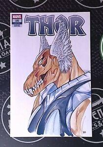 Thor #16 2021 Marvel Comics Donny Cates Peach Momoko Anime Variant Cover D