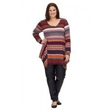 OPHILIA: modisches Long-Shirt Streifen-Design Gr. 6 (52 - 54) statt 89,95 NEU