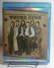 Young Guns(Blu-ray Disc,1988)Used Once-Emilio Estévez-Charlie Sheen-FreeShipping