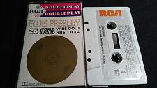 ELVIS PRESLEY 25 World Wide Gold Award Hits Vol2  *RARE UK MC TAPE*