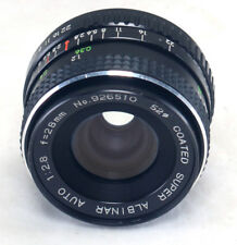 for Pentax K 28mm f/2.8 Vintage Super Albinar Auto Coated MC Lens