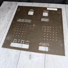Akai GX-625 Reel to Reel - Back Panel Cover - Genuine Part - READ