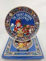 Lucy and Me Enesco The Night Before Christmas Porcelain Collector's Plate - 1987