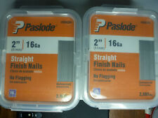 New listing Paslode 2 Inch by 16 Gauge Galvanized Straight Finish Nail 2 pack of 2000