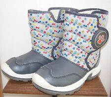 Boys' Toddler Paw Patrol Snow Boots Gray Size 12 - In Box - Euc