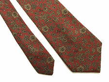 TRUSSARDI Cravatta Seta Uomo Flower Silk Man Tie With Tag