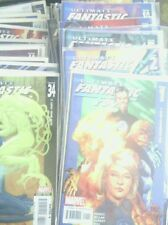 Ultimate Fantastic Four #1-54 + Annuals 1-2 (Run) 1st Marvel Zombies 2004