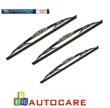 Bosch Superplus Front + Rear Window Wiper Blades For Ford Mondeo MK3