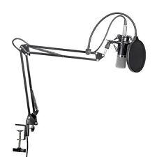 Studio di registrazione strumenti audio professionali Microfono a Condensatore Pop Filtro UK NUOVO PENNINO *