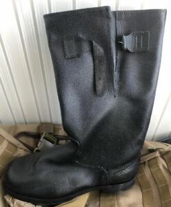 Russian Soviet Army Boots with adjustable original Kirza Leather Size 42-51