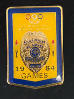 Vintage Collectible El Monte Police Metal Colorful Pin Back Lapel Pin Hat Pin