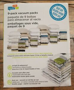 NEW VACUUM CLEANER STORAGE SYSTEM, Honey-Can-Do Combo Set, Easy To Use 9-Pack.