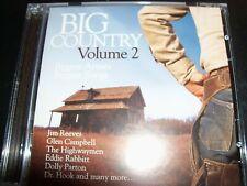 Big Country Volume 2 CD Dolly Parton Dr Hook Highwaymen Merle Haggard Juice Newt