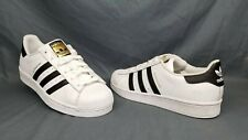 Adidas Men's Superstar Fashion Sneakers White Black Size 9 DISPLAY MODEL!