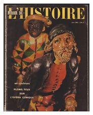 REVUE MIROIR DE L'HISTOIRE N° 150 06/1962 OPERA COMIQUE