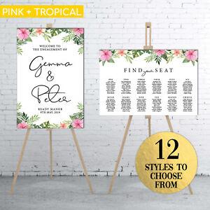 The Wedding Bundle No.1: Wedding Welcome Sign + Seating Chart