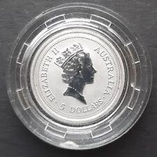 *QWC* AUSTRALIA 5 Dollars 1/20 PLATINUM - 1996 - Proof Coin - KOALA - in capsule