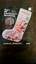 Toys of Christmas Stocking    A Counted Cross Stitch Chart by Stoney Creek