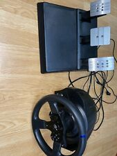 Thrustmaster T300rs gt with Thrustmaster Pedals T3PA.