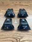 YAKIMA Skyline Towers with Locks - Set of 4 for Roof Rack Vehicles Fixed Points