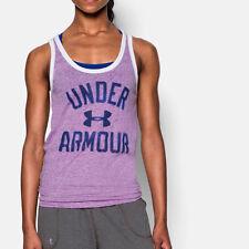 Damen-Fitness-Sporttops Under armour fürs Laufen