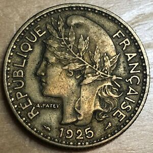 Cameroon 1925 2 Francs; KM-3; XF (#x1308)
