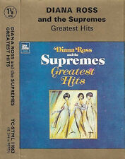 Diana Ross And The Supremes Greatest Hits CASSETTE ALBUM SOUL MOTOWN 16 track