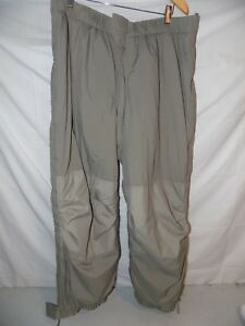 ADS Primaloft GEN III Level 7 ECWCS Cold Trousers Pants Large Regular Gray L-R