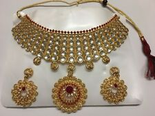 Traditional Choker set with earrings Indian Jewellery