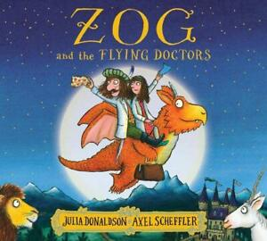 Zog and the Flying Doctors by Julia Donaldson NEW Paperback Book