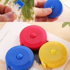Popular Retractable Ruler Tape Measure Sewing Cloth Dieting Tailor Random Color