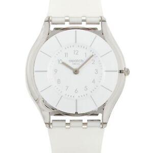 Swatch White Classiness Ladies' Watch SFK360