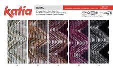 "KATIA ROMA YARN*DESIGNER NOVELTY ""RUFFLE"" YARN*COLORS 40, 41, 42, 43*DISC*RT $28"