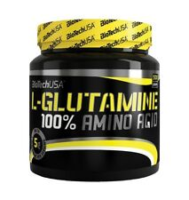 BIOTECH USA 100% L-Glutamine 500g 100% Amino Acid Pure powder