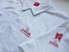 Omega Olympics London 2012 White Polo Shirt Extra Large Sealed